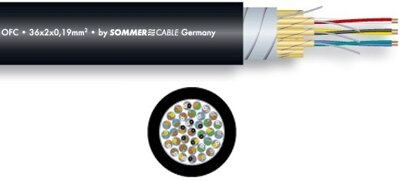 Sommer Cable 100-0051-40+2 THE PLANET FMC-40+2