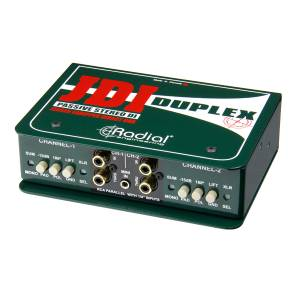 Radial Engineering JDI Duplex - Pasívny DI-Box