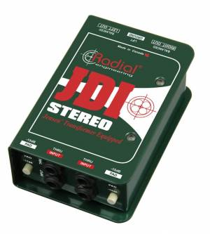 Radial Engineering JDI Stereo - Pasívny stereo DI-Box