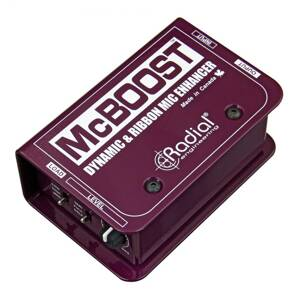 Radial Engineering McBoost - Mic signál booster