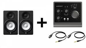 Yamaha HS5 + Audient iD4 MKII Interface Bundle